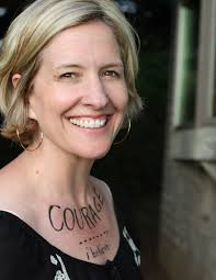 "Brene Brown is the author of a trilogy of ""Self Help"" books that will rock your world."