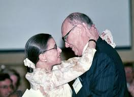 Ginsberg with hubby